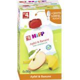 Hipp Früchte im Quetschbeutel Apfel & Banane