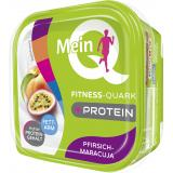 Mein Q Fitness-Quark Pfirsich-Maracuja