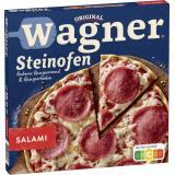 Original Wagner Steinofen Pizza Salami, Tiefgekühlt, Faltschachtel