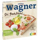 Original Wagner Die Backfrische Mozzarella mit Kirschtomaten & Basilikumöl