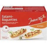 Jeden Tag Salami-Baguettes