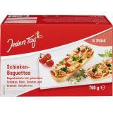 Jeden Tag Schinken-Baguettes