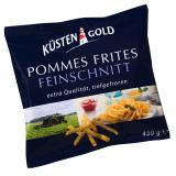 Küstengold Pommes Frites Feinschnitt