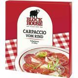 Block House Carpaccio vom Rind