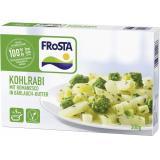 Frosta Kohlrabi mit Romanesko in Bärlauch-Butter