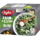 Iglo Rahm-Blattspinat