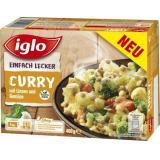 Iglo Einfach Lecker Curry mit Linsen und Gemüse