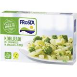 Frosta Kohlrabi in Bärlauch-Butter