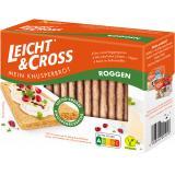 Leicht & Cross Mein Knusperbrot kräftiger Roggen
