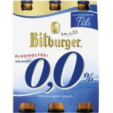 Bitburger 0,0% Pils alkoholfrei (MHD 23.05.2018)