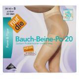 nur die Bauch-Beine-Po Strumpfhose 20 den Gr. 38-40 S amber
