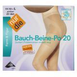 nur die Bauch-Beine-Po Strumpfhose 20 den Gr. 44-48 L amber