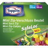 Toppits Mini Zip-Verschluss Beutel