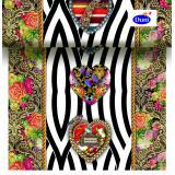 Duni 3in1 Dunicel 40x480cm Sabia Hearts