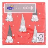 Duni Tomten Tissue-Servietten 24x24cm