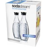 Soda Stream Glaskaraffe Duo-Pack