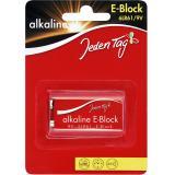 Jeden Tag Alkaline E-Block 6LR61 9V