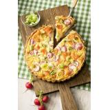 Set: Räucherlachs-Quiche