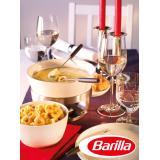 Set: Käse Fondue mit Pesto alla Genovese
