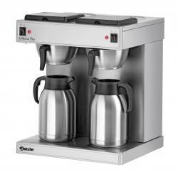 Bartscher Doppel-Kaffeemaschine Contessa Duo mit 2 Isolierkannen - 4015613505015