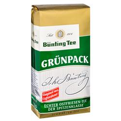Bünting Grünpack Tee (500 g) - 4008837201054