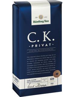 Bünting C.K. Privat Tee