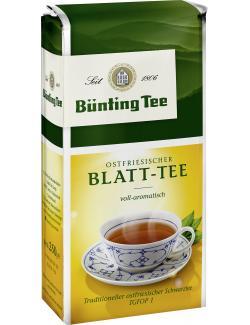 Bünting Ostfriesen Blatt Tee