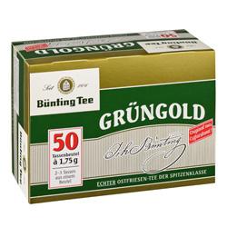 Bünting Grüngold (50 x 1,75 g) - 4008837210025