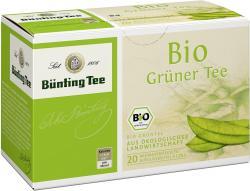 Bünting Bio-Grüntee (20 x 1,75 g) - 4008837223087