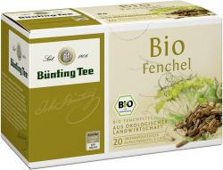 Bünting Bio-Fenchel (20 x 2,50 g) - 4008837223032