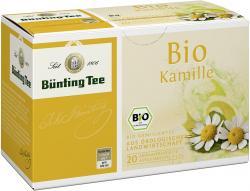 Bünting Bio-Kamille (20 x 1,50 g) - 4008837223049