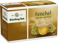 Bünting Fenchel Classic (20 x 2,50 g) - 4008837218229