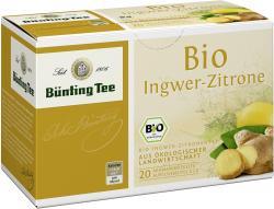 Bünting Bio-Ingwer-Zitrone (20 x 2 g) - 4008837223100
