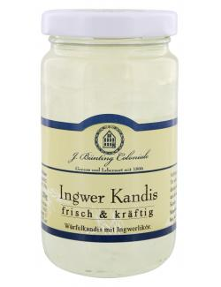 J. Bünting Coloniale Ingwer Kandis (250 g) - 4017700981764