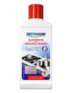Heitmann Glaskeramik und Edelstahl Reiniger (250 ml) - 4052400033511