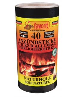 Favorit Anzündsticks-Naturholz