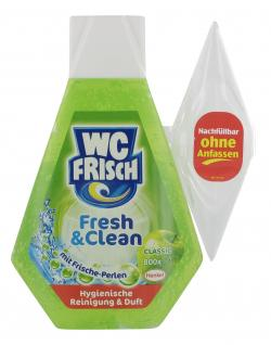 WC Frisch Fresh & Clean Classic Nachfüller (200 ml) - 4015000019521