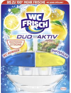 WC Frisch Duo-Aktiv WC-Reiniger + Duftspüler Lemon