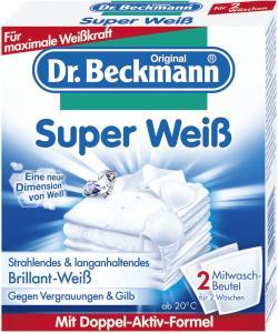 Dr. Beckmann Super Weiß (2 x 40 g) - 4008455004174