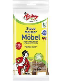 Poliboy Staubmeister Feuchttücher (24 St.) - 4016100242413