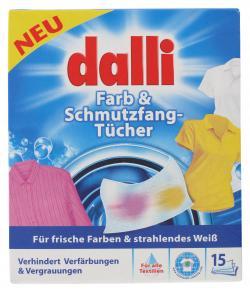 Dalli Farb- & Schmutzfang-Tücher (15 St.) - 4012400521005