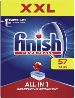 Finish Powerball Alles-in-1 Tabs (57 St.) - 4002448065449