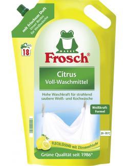 Frosch Waschmittel citrus 18WL