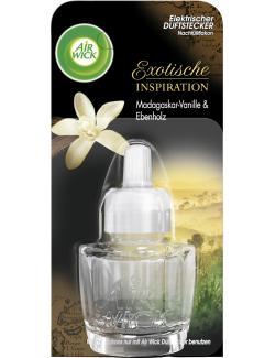 Air Wick Duftstecker Nachfüller Madagaskar-Vanille & Ebenholz (19 ml) - 4002448081722