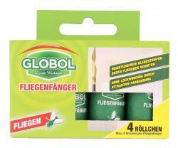 Globol Fliegenfänger Klebestreifen (4 St.) - 5099831644526