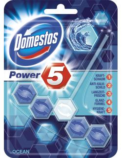 Domestos Power 5 WC-Stein ocean (55 g) - 8712561770804