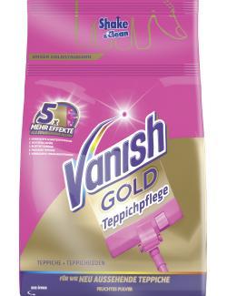 Vanish Gold Teppichpflege