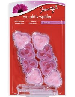 Jeden Tag WC Aktiv-Spüler Floral (1 St.) - 4306188353669