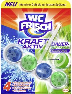 WC-Frisch Kraft-Aktiv Dauer-Duft-Kern frische Pinie (50 g) - 4015000963121