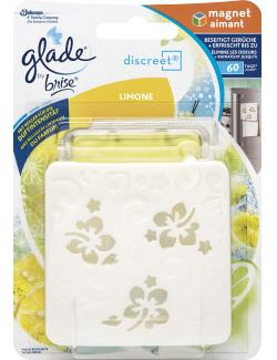 Glade by Brise Discreet Magnet Limone (1 St.) - 5000204707106